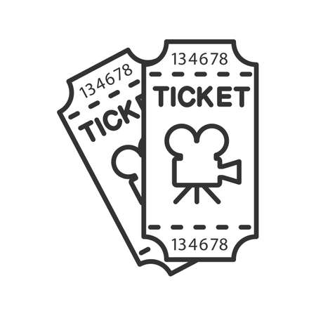 401 Two Movie Tickets Stock Vector Illustration And Royalty Free Two