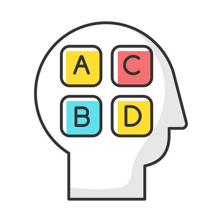 Social survey color icon. Public opinion. Research. Consumer review. Customer satisfaction. Personality test. Feedback. Evaluation. Data collection. Sociology. Isolated vector illustration