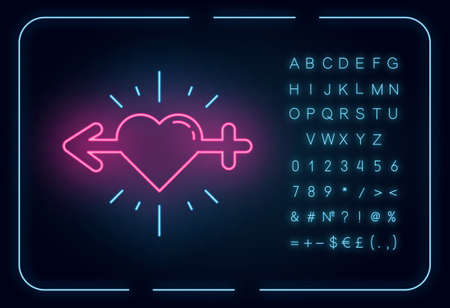 Libido racing neon light icon. Sex drive. Female and male erotic activity. Testosterone and esteron. Hypersexuality. Glowing sign with alphabet, numbers and symbols. Vector isolated illustration