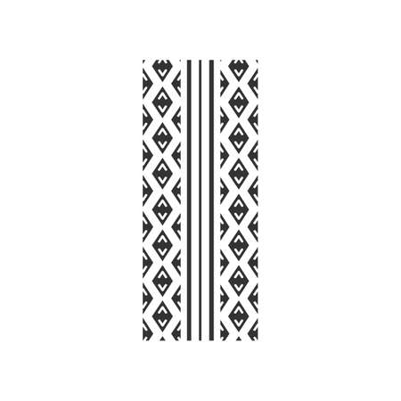 Track tread black glyph icon. Detailed automobile, motorcycle street tyre marks. Symmetric car wheel print. Vehicle tire trail. Silhouette symbol on white space. Vector isolated illustration