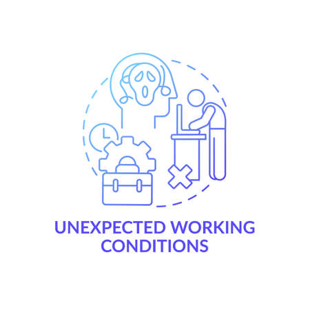 Unfulfilled desires concept icon. Unrealized dream and emotional burden idea thin line illustration. Work fatigue and responsibilities. Vector isolated outline RGB color drawing