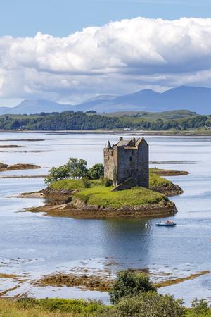 Appin, Scotland / United Kingdom - Jul 12 2017: Stalker Castle.