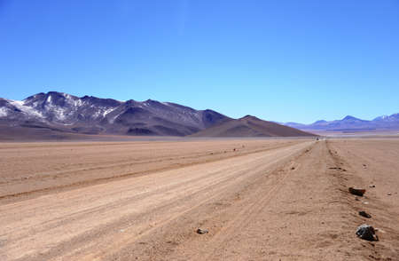 andes: Road in the Andes