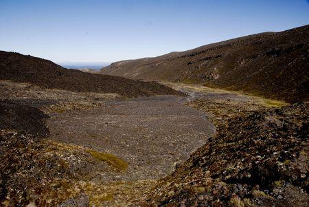 mountin: Tongariro Crossing