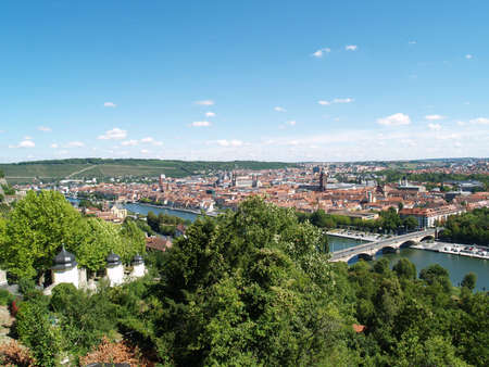 townscape: Townscape of Würzburg