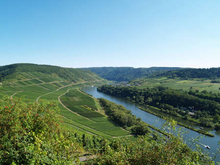 mosel: The famous valley of the river called Mosel