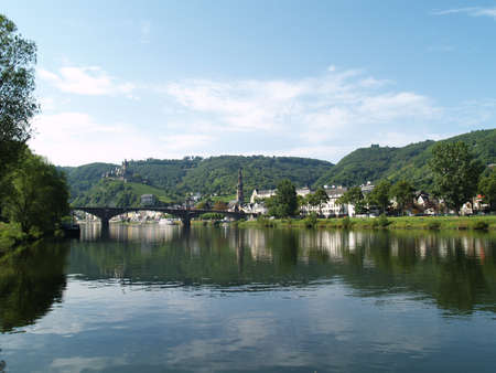 mosel: Cochem at the river Mosel