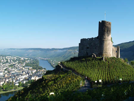 mosel: Mosel valley with remains of fog
