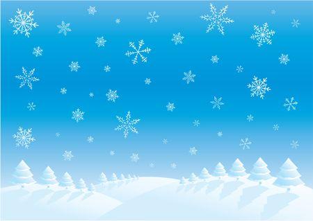 Winter scene Stock Photo - 280955
