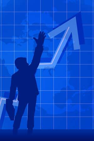 Business success, conceptual image photo