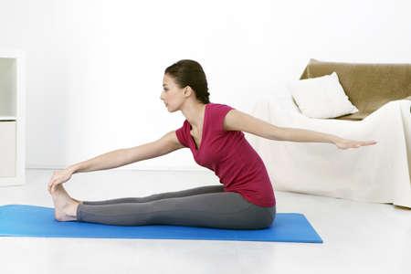 Pilates,Woman LANG_EVOIMAGES