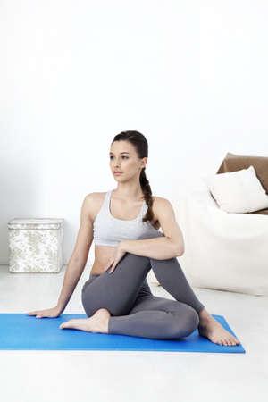 Yoga,Woman