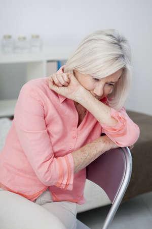 Depressed Elderly Person