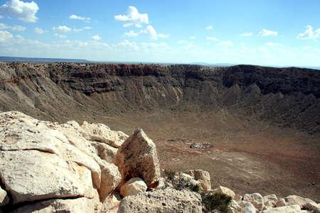 Krater Meteor  Zdjęcie Seryjne