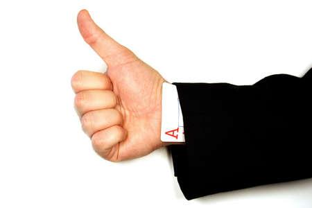 the sleeve: Ace Up The Sleeve