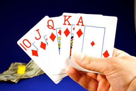 Poker królewski karo