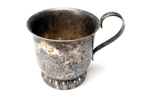 Zmatowionej Cup  Zdjęcie Seryjne