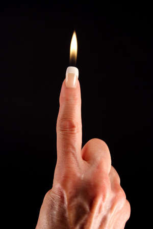 Finger Candle