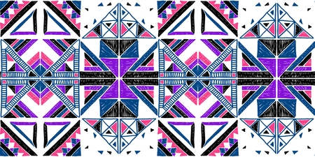 A Seamless geometric African pattern. Ethnic ornament on the carpet. Aztec style. Tribal ethnic vector texture. Embroidery on fabric. Indian%2C Mexican%2C folk pattern. Quilting%2C patchwork%2C jacquard.