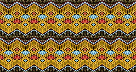 Tribal ethnic pattern