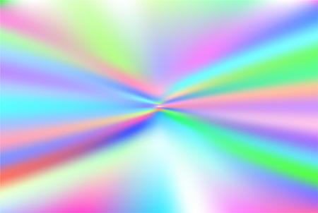 ホログラフィックベクトルの背景。虹色の箔。