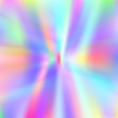 Shiny foil paper. Holographic Vector Background. Iridescent Foil. Glitch Hologram. Pastel neon rainbow. Ultraviolet metallic paper.  Cover to web design.  Abstract colorful gradient. 일러스트