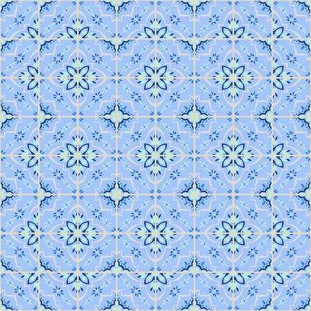 Talavera pattern.  Azulejos portugal. Turkish ornament. Moroccan tile mosaic. Spanish porcelain. Ceramic tableware, folk print. Spanish pottery. Ethnic background. Mediterranean seamless  wallpaper.
