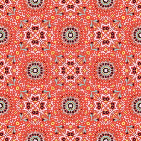 Talavera pattern. Azulejos portugal. Turkish ornament. Moroccan tile mosaic. Spanish porcelain. Ceramic tableware, folk print. Asian pottery. Ethnic background. Mediterranean  wallpaper. Art Deco. Banco de Imagens - 115063830