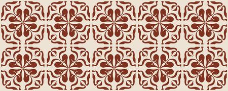 Talavera pattern.  Indian patchwork. Azulejos portugal. Turkish ornament. Moroccan tile mosaic. Ceramic tableware, folk print. Spanish pottery. Ethnic background. Mediterranean seamless  wallpaper. Banco de Imagens - 116463747