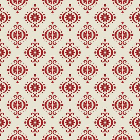 Ikat geometric folklore ornament. Oriental vector damask pattern. Ancient art of Arabesque. Tribal ethnic texture. Spanish motif on the carpet. Aztec style. Indian rug. Gypsy, Mexican embroidery.O Фото со стока - 129101943