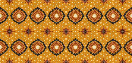 Talavera pattern. Azulejos portugal. Turkish ornament. Moroccan tile mosaic. Spanish porcelain. Ceramic tableware, folk print. Asian pottery. Ethnic background. Mediterranean wallpaper. Art Deco. Banque d'images - 131671789
