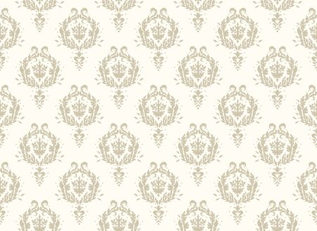 Oriental vector damask pattern. Talavera pottery. Azulejos portugal. Turkish ornament. Spanish porcelain. Ceramic tableware, folk print. Ethnic background. Mediterranean wallpaper.  Talavera pottery. Stock Illustratie