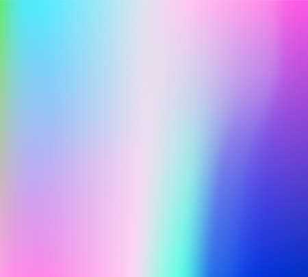 Holographic Vector Background. Iridescent Foil. Glitch Hologram. Pastel neon rainbow. Ultraviolet metallic paper. Template for presentation. Cover to web design. Abstract colorful gradient. Illusztráció