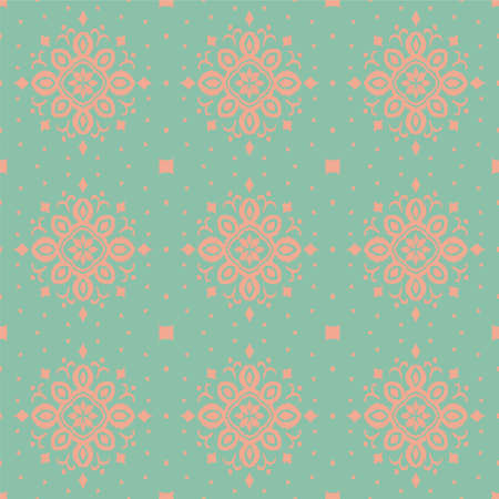 Ikat seamless pattern. Border with snowflakes. Openwork lace. New year Christmas background. Vector tie dye shibori print with stripes and chevron. Ink textured japanese background. Bohemian fashion. 矢量图像