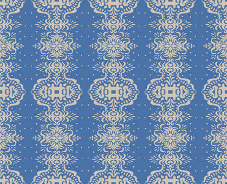 Ikat seamless pattern. Border with snowflakes. Openwork lace. New year Christmas background. Vector tie dye shibori print with stripes and chevron. Ink textured japanese background. Bohemian fashion. 일러스트
