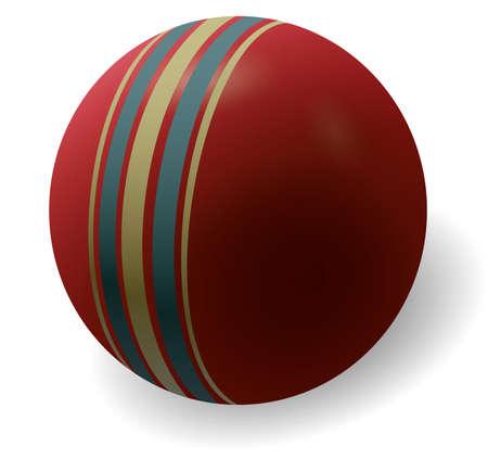 retro ball Vector