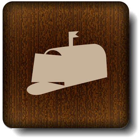 Mailbox icon Stock Vector - 14854866