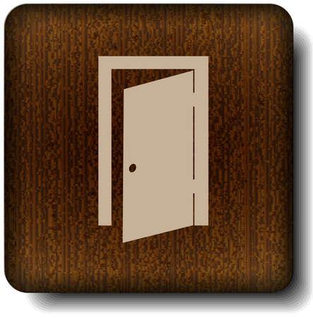 push room: Exit icon