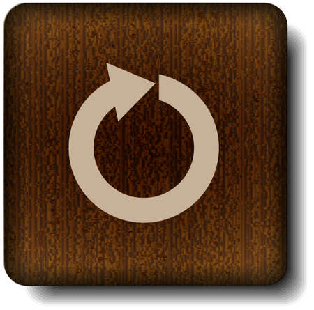 Refresh icon Stock Vector - 14854872
