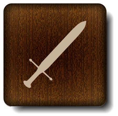 Sword icon Illustration
