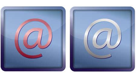 e-mail icon Stock Vector - 14921351