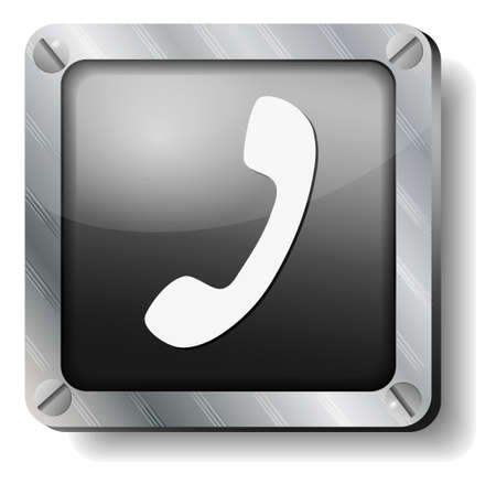 steel handset icon
