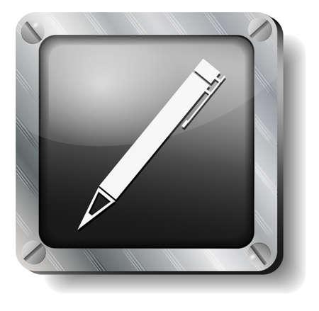 steel pen icon