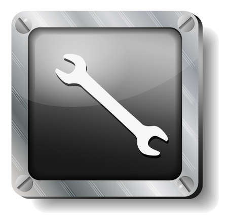steel wrench icon