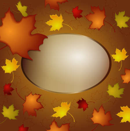 autumn frame Stock Vector - 15025405