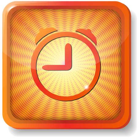orange alarm Stock Vector - 15272347