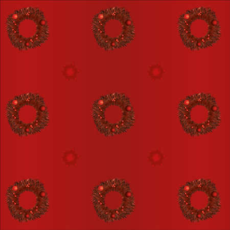 christmas seamless texture Vector