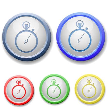 circle stopwatch icon