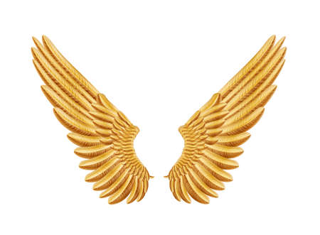 artificial wing: golden wings