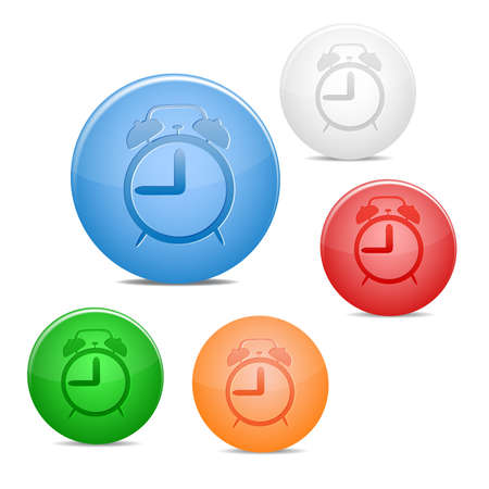 alarm icon Illustration